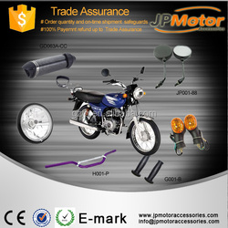 BAJAJ motorcycle parts ct100 135 150 pulsar 180cc exhaust muffler motorcyle rearview mirror handlebar Grips headlight motorcycle