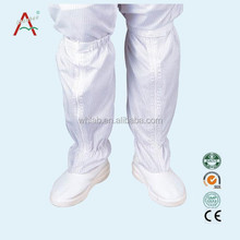 High quality antistatic shoe cover with Canvas or Leather Surface and PVC / PU / SPU Sole