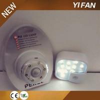 Hot Wireless PIR Motion Sensor 10 LED White Light Cabinet Wardrobe Lamp Lighting