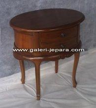 Wooden Indoor Furniture - Nightstand for Bedroom Furniture - Wooden Mahogany Furniture