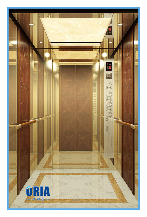 Elevator type villa lift home elevator for 3 6 persons for Home elevator kits