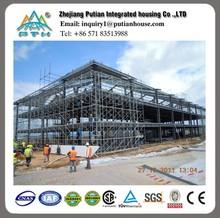 Best price 50 years lift span lightweight steel metal building kits