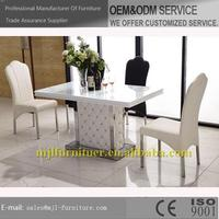 Alibaba china classical glass mirrored dining table