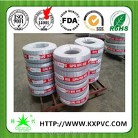 Steel wire reinforced Qingdao Port dispatch PVC hose