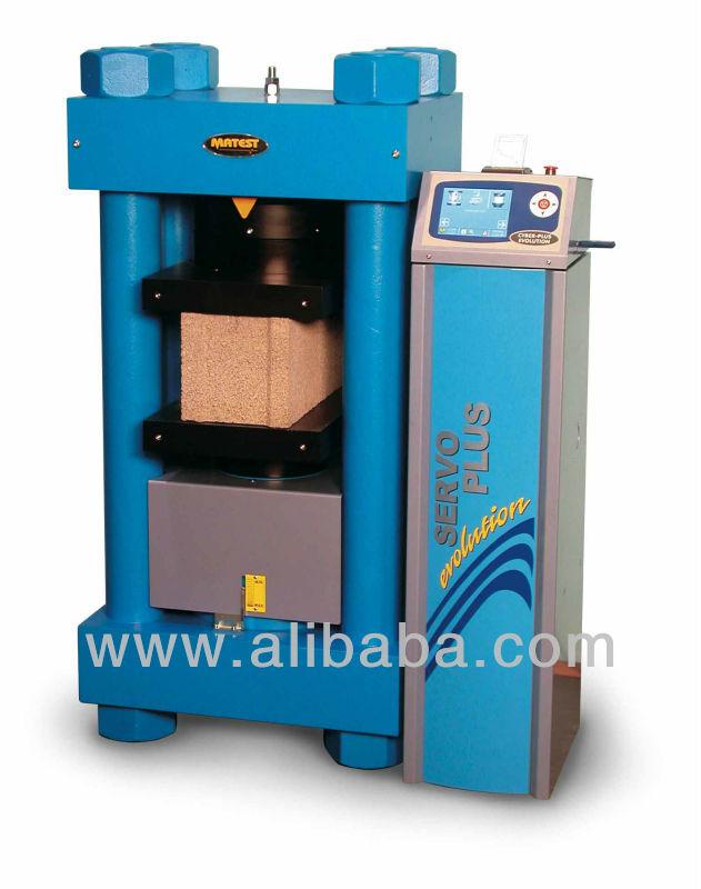 Béton Machine d'essai pour blocs de compression, Haute stabilité, Automatique / semi - automatique, 2000/3000 kN