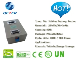 Lead-acid Replacement; Electric Vehicle; Scooter; Moped; Bike; Solar; PV; Lifepo4 / Li-ion Battery Pack 24v80Ah