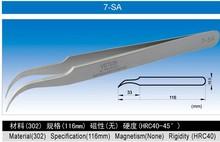 Vetus stainless steel ESD curve tweezers 5B-SA,7-SA
