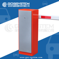 Intelligent Automatic parking lot barrier gate for club entrance