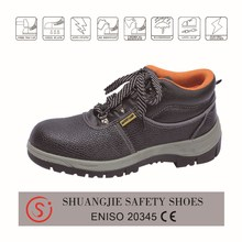 industrial steel toe mens work shoes womens safety shoes CE approved electrical safety shoes