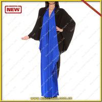 Hot Sale Fashionable abayas dubai Lady Arabic Abaya/Women gown/Arabic gown KDT530 abaya 2014 model abaya