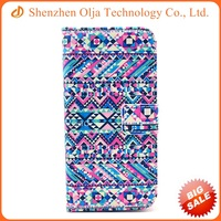 New factory painted flip stand leather mobile phone case for iPhone 5s