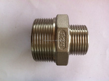 BSPT/BSP/NPT thread Stainless Steel 304/316 redecing Hex Nipple Direct FACTORY