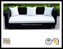 High quality fashion design furniture garden rattan daybed sofa AWRF5158-1B