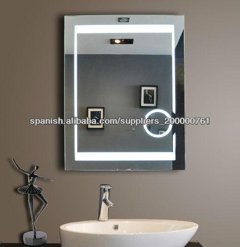 Espejo de aumento de ba o con luz - Espejos de bano con luz ...