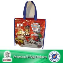 Lead Free Non Woven Reuse Dog Print Bag