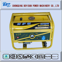 BRT type design Manual Petrol types gasoline generator price list