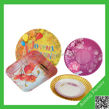 New Arrival Eco-friendly disposable cake plate ,cake serving plate