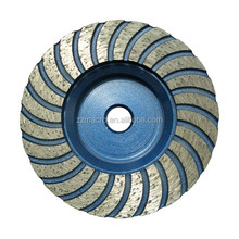 stone tools 5inch Double Row Threaded concrete cup wheel