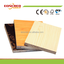 Moisture-Proof Feature and No Paint Surface Finishing Melamine particle board