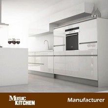 Pre assembled modular kitchen cabinet painting