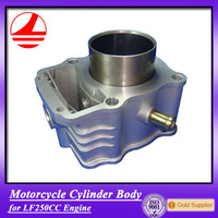 Factory Wholesale motorcycle cylinder body lifan 250cc parts