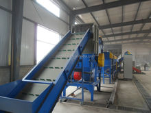 Waste PE, PP dirty film washing production line