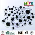 Diy plastic eyes seguridad 5 mm negro y blanco ojos para juguetes