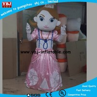 princess sofia mascot costume/sofia the first mascot/ sofia the first mascot costume