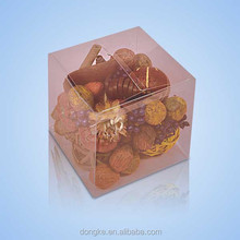 Customized plastic food container boxes,cupcake boxes