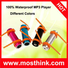 100% Waterproof MP3 Player For Swimming Water Sports