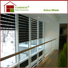 dark color Zebra Blinds/ Zebra Shades/day and night chain blinds