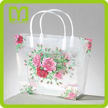 2015China plastic high quality wholesale fashional pvc shopping bag