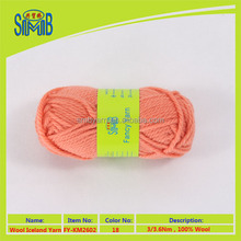 shanghai factory hot sale high quality super wool yarn for hand knitting