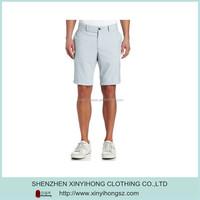 Light Natural Cotton Elastic Famous Brand Golf Shorts