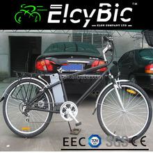 steel 24v 14ah lead acid battery city ladies and men 26 electric mountain bike (E-TDF01)
