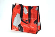 BSCI audit factory zebra print shopping bags/best travel bags/shopping bag