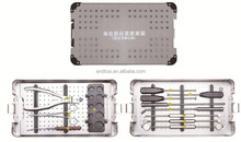 Spinal Fusion Device basic orthopedic surgical instrument Kit
