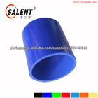 Cor azul direto/cotovelo pano de borracha reforçada mangueira de silicone