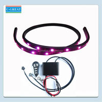 DC 12V Color Changing high quality motorcycle led strips kit made in China
