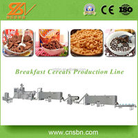 Fully Automatic breakfast produciton machine/Corn Flour Snacks Machine