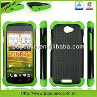 3 in 1 Triple defender waterproof shockproof mobile phone hard case for HTC One S Case