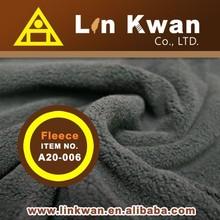 Taiwan LK black shearp fleece for garment bed sheets polar fleece knitted fabric