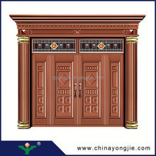 Cheap Security Doors decorative front double door