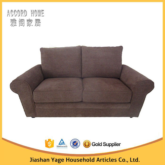 Latest Home Furniture Best Price 2 Seater Fabric Sofa