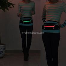 Pop Phone Money & Keys Pack LED Jogging Waist Belt Bag