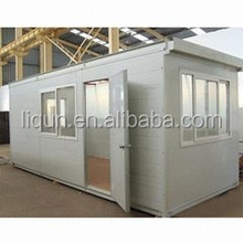 Heat insulated luxury movable vacation container house