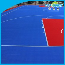 Hot sale long using life synthetic basketball court flooring