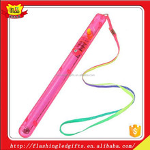 Led plastic wholesale Light Up stick Led Flexible plastic Baton Led Stick customized logo Glow Stick