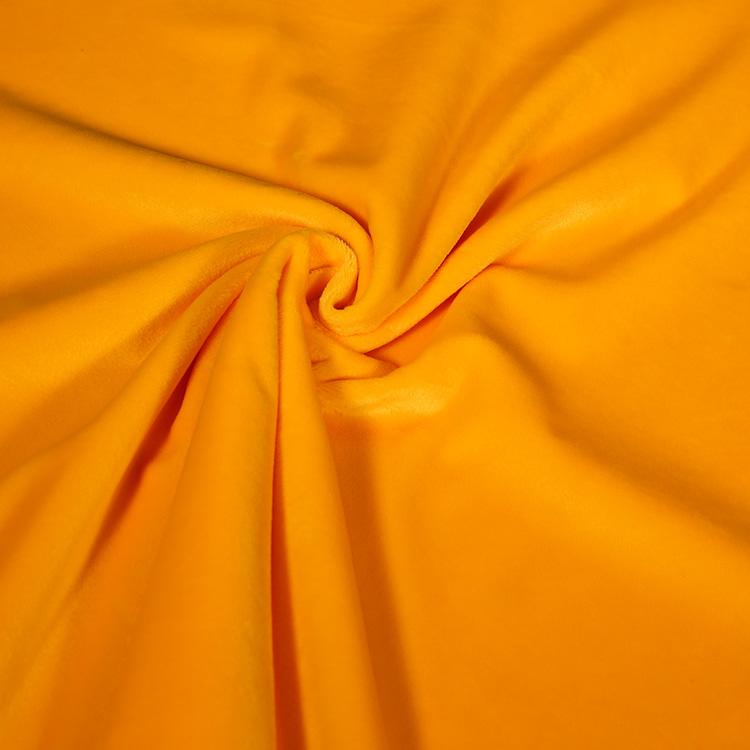 크리스탈 디자인 슈퍼 부드러운 플러시 벨벳 실내 장식 직물 도매 모든 색상