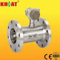 KHLWGY Intelligent Flange Type flow meter Liquid Turbine Flow Meter